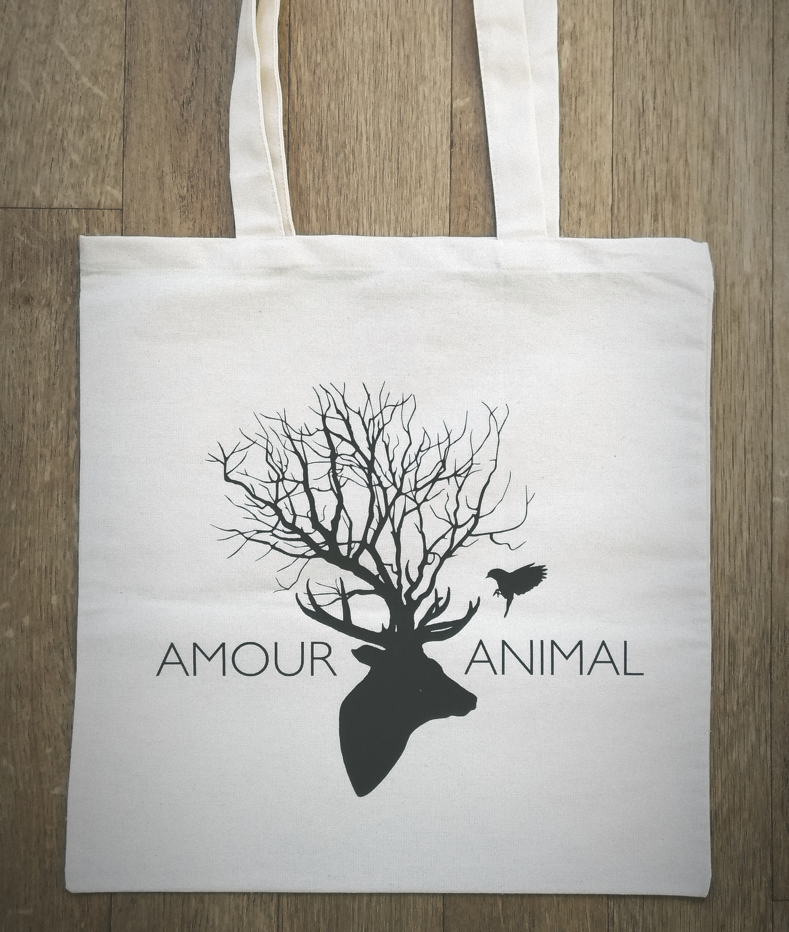 le tote bag de la marque amour animal ethique et engag e. Black Bedroom Furniture Sets. Home Design Ideas